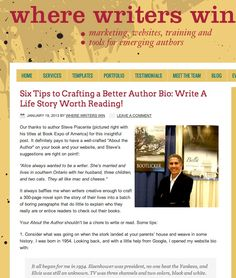 Some tips to add a little spice to your author bio: http://writerswin.com/2013/01/19/six-tips-to-crafting-a-better-author-bio-write-a-life-story-worth-reading/?utm_source=Where+Writers+Win+Blog+Subscribers_campaign=55c14adf6c-1_19_13_Update_medium=email#axzz2ISglgW00