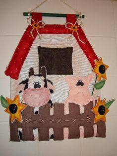 Vaca y cerdo country - Alejandra Sandes