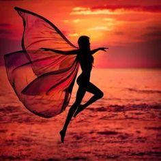 Sunset Girl - Diamond Painting Kit – My Diamond Paintings Dancer Photography, Sunset Photography, Creative Photography, Amazing Photography, Silhouette Photography, Silhouette Art, Sunset Girl, Photo D Art, Shadow Art