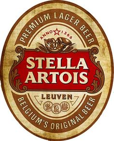Chile version Stella Artois Beer back in Spanish