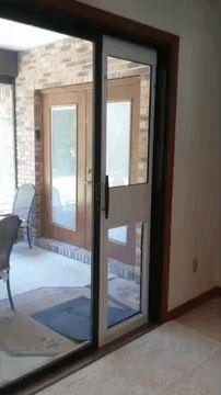 Giant Breed Patio Dog Door Insert For Sliding Glass Doors 15 W X 28 Flap Big Dog Door For For Sliding Patio Doors Patio Dog Door Sliding Glass Door Dog Door Insert