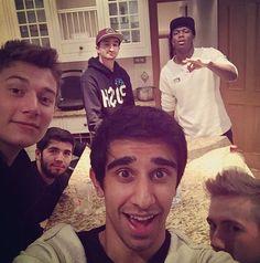 Mitch, Jerome, Vikk, jj, Simon and josh