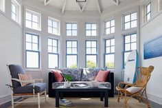 Photo: Courtesy of Andrew Howard Interior Design   thisoldhouse.com   from 11 Brilliant Ideas for Painting Window Frames