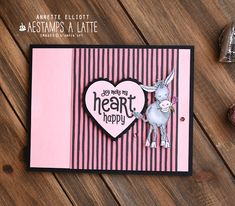 Valentine Love Cards, Valentines, Card Crafts, Makati, Donkeys, Green Flowers, Thank You Gifts, Step By Step Instructions, I Card