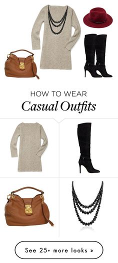 """""""casual outfit fall"""" by abbygirly on Polyvore featuring Rebecca Minkoff, Bling Jewelry, GUESS and Miu Miu"""