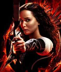 Catching Fire. Love her