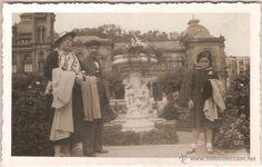 Fotografía antigua: San Sebastian, Jardines De Alderdi Eder - Agosto 1935 - Foto 1 - 55046676