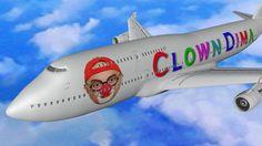 Клоун Дима едет в аэропорт. Мультик с машинами для детей. ПДД  и Анимаци...