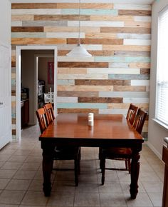 FOUR FANTASTIC PALLET WOOD WALLS! ….DIY on a BUDGET!
