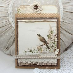 Paper bag card by Theresa ~ Pion Design