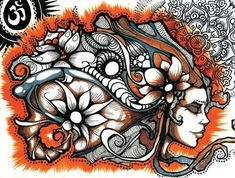 brandon boyd of incubus drew/inspired the piece on my chest and now i want this one on my shoulder/back