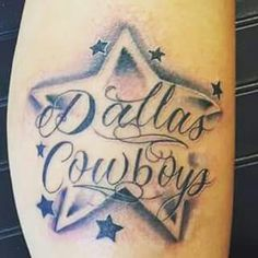 Dallas cowboys thinking about getting this in a tattoo for Dallas cowboys star tattoo