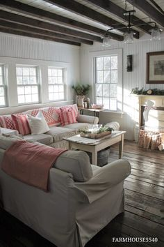 FARMHOUSE 5540 These sofas are on my dream list- they are almost identical to my Grammy's from my childhood: