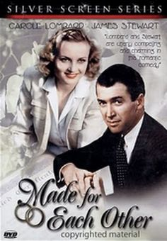 Made For Each Other  - FULL MOVIE - Watch Free Full Movies Online: click and SUBSCRIBE Anton Pictures  FULL MOVIE LIST: www.YouTube.com/AntonPictures - George Anton -   *** From the Golden Age of Cinema - Carole Lombard, James Stewart and Charles Coburn *** Young lawyer meets and marries girl after knowing her one day. Takes bride home to meet his mother who disapproves of the marriage. Lawyer thinks everything will be fine as he mov..