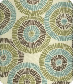 3 shades of green in circles +online fabric, lewis and sheron, lsfabrics