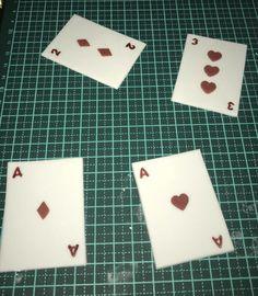 Fondant Playing Cards Poker Cake, Fondant, Playing Cards, Cakes, Cake Makers, Playing Card Games, Kuchen, Cake, Pastries