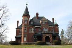 Brick Victorian mansion