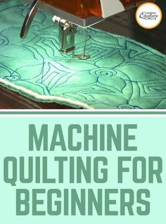 Peg Spradlin are very helpful tips on machine quilting for beginners. Find out which secret techniques speed up the learning process. See what tools you need and what threads and needles are best. Grab your sewing. Quilting For Beginners, Sewing Projects For Beginners, Quilting Tips, Quilting Tutorials, Quilting Projects, Sewing Tutorials, Beginner Quilting, Longarm Quilting, Easy Projects