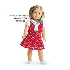 American Girl Kit Doll BeForever BNIB