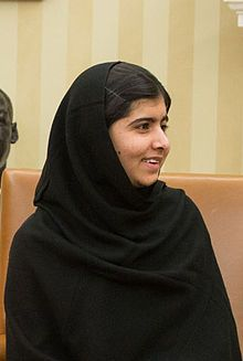 Malala Yousafzai. Yousafzai was shot in the head and neck in an assassination attempt by Taliban gunmen for standing up for women and education and the youngest person to ever be nominated for the Peace Prize.