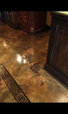 Concrete floors on pinterest stained concrete floors and keller