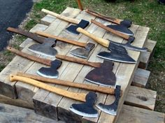 Axe for hewing?