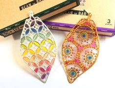 Resin Crafts, Origami, Diy And Crafts, Coin Purse, Gems, Drop Earrings, Jewels, How To Make, Handmade