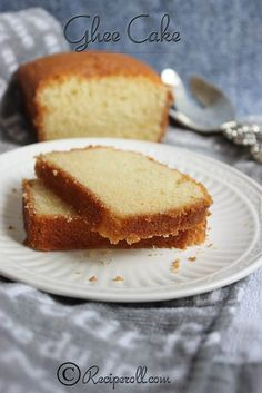 Sankeerthanam: Ghee Cake | Cake Using Clarified Butter