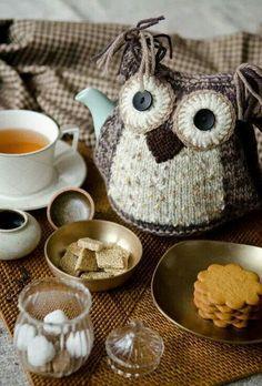 Owlicious tea