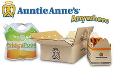 Auntie Anne's, Pretzels, Delicious, Picnic Kit, To-Go, Party, Catering, Pretzel, Parties, Auntie Anne's Anywhere