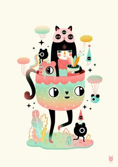 Illustration by Muxxi