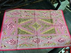 Indian Tapestry Pink Handmade Embroidered Patchwork Hippie Wall Hanging Home Decor Mogul Interior http://www.amazon.com/dp/B00R0Y6COC/ref=cm_sw_r_pi_dp_yi5Kub044QCWH