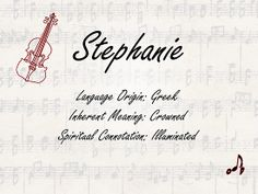 what+does+the+name+stephanie+mean+for+a+girl | The Name Stephanie Meaning