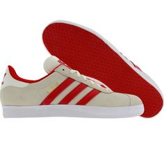 Adidas Gazelle 2 (legacy / light scarlet / white) V24423 - $64.99