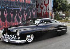 "'49 Mercury ""Lead Sled"" chopped"