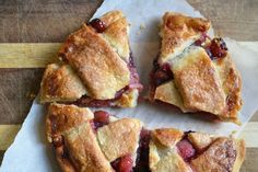 Christmas Dessert: Cranberry-Apple Pie