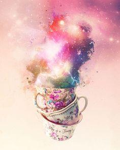 Storm in a teacup | Laine Fraser - Designer Illustrator Artist
