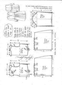 Patrón vestido plisado con mangas de camisa Patrón para hacer un bonito vestido plisado con mangas de camisa. Ideal para este otoño-invierno. Encontraras las tallas desde la 36 hasta la 56. Talla 36: Talla 38: Talla 40: Talla 42: Talla 44: Talla 46: Talla 48: Talla 50: Talla 52: Talla 54: Talla 56: …