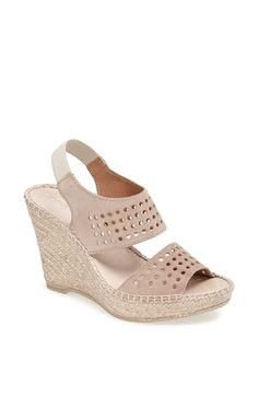 Andre Assous André Assous 'Cyline' Espadrille Wedge Sandal available at #Nordstrom