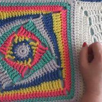 Granny Squares with a Twist + Tutorial