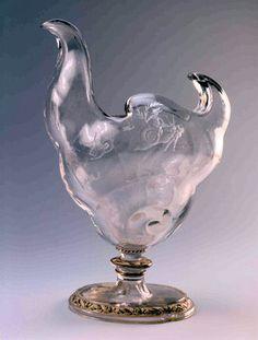 Émile Gallé (1846-1904) & Victor Prouvé (1858-1943). Vase Escargot (snail) des Vignes. Musée de l'École de Nancy - France