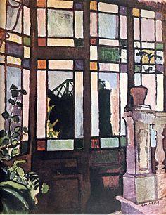 Interior - Raoul Dufy