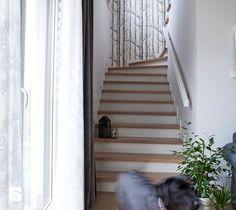Klatka schodowa. - zdjęcie od Kwadraton stairs design | scandinavian | white | wallpaper
