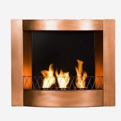 9 Best Fireplaces images | Fireplace wall, Gel fireplace
