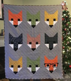 For the second year in a row, Lesley from Quilt-a-Daisy made her daughter a surprise quilt for Christmas. The pattern is Allie Owl by Elizabeth Hartman. Lesley pieced and quilted this adorable quilt with Aurifil thread!  To see more please visit:  http://quiltadaisy.blogspot.com/2015/12/3-years-runningand-merry-christmas.html