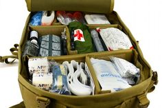 Prepping Supplies: The Medical Bag - The Prepper J Survival Prepping, Survival Gear, Survival Skills, Prepper Supplies, Emergency Supplies, Upset Tummy, Medical Pictures, Medical Bag, Disinfecting Wipes