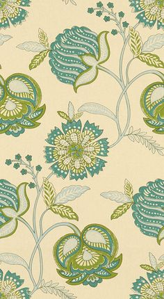 PLANTES.316 by Kravet Basics Fabric Cotton 100% India Light H: 13.5 inches, V: 17 inches 54 inches - Fabric Carolina - Kravet Basics