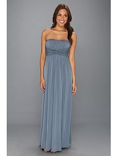 Jessica Simpson Twist Bust Maxi Gown