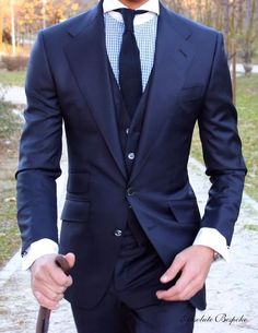 Three piece suit by Absolute Bespoke