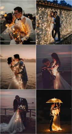 Romantic wedding photos with lights Night Wedding Photos, Romantic Wedding Photos, Cute Wedding Ideas, Wedding Pictures, Wedding Inspiration, Wedding Photography Poses, Wedding Poses, Wedding Photoshoot, Wedding Gifts For Groomsmen